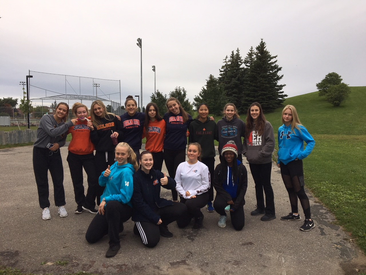 Burlington U16A Ringette Team