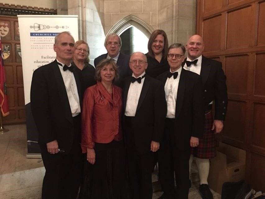 Shibley Righton LLP attends the 35th annual  Churchill Society for the Advancement of Parliamentary Democracy Gala on November 29, 2018.""