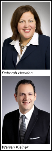 Deborah Howden and Warren Kleiner Head Shot