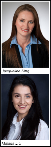 Jackie King and Matilda Lici Head Shot